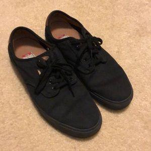 Vans Chima Ferguson Black Skate Shoes